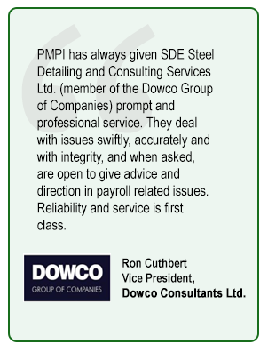 Ron Cuthbert Vice President,  Dowco Consultants Ltd.